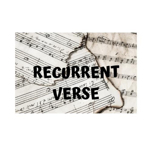 Recurrent Verse